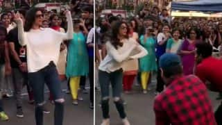 Sushmita Sen Dancing With Students From Mumbai's St. Andrews College is The Best Video On Internet Today