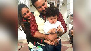 Kareena Kapoor Khan And Saif Ali Khan's Picture Perfect Moment With Birthday Boy TaimurAli Khan Will Warm Your Hearts