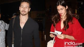 Disha Patani Doesn't Approve Tiger Shroff Of Liking His Female Co-star's Instagram Posts?