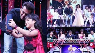 Salman Khan And Katrina Kaif Relive Their Childhood As They Pose And Dance With Little Super Dancers (View Pics)