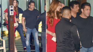 Salman Khan Spotted With Rumoured Girlfriend Iulia Vantur At Arpita Khan Sharma's Christmas Bash