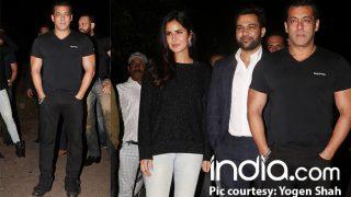 Salman Khan Rings In His 52nd Birthday With Katrina Kaif At His Panvel Farmhouse - View Pics
