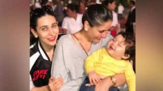 Kareena Kapoor Khan's Son Taimur Hangs Out With Karan Johar's Twins Yash And Roohi At Adira Chopra's Birthday Party (View Pic)