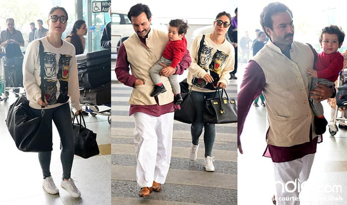 Taimur Ali Khan's birthday pics are pouring in like his birthday wishes!