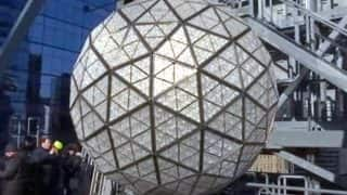 Waterford Crystals Installed on Times Square New Year's Eve Ball (2018); 'Gift of Serenity' is the Theme This Year