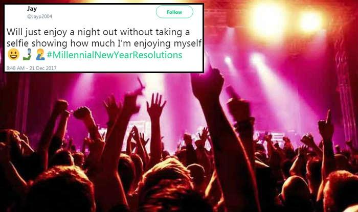 #MillenialNewYearResolutions: Selfies, Aadhaar Card And Starbucks Find A  Mention On Twitter