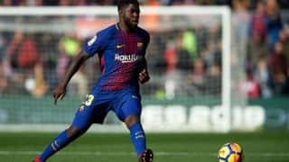 Barcelona Defender Samuel Umtiti Sideline For 8 Weeks, Will Miss First El Clasico of La Liga 2017-18