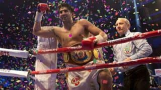 Vijender Singh Defends WBO Oriental Super Middleweight And WBO Asia Pacific Super Middleweight Titles Against Ernest Amuzu