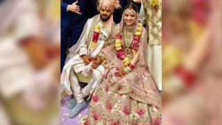 Virat Kohli - Anushka Sharma's Wedding Picture Fails To Impress The Fashion Police