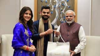 Virat Kohli-Anushka Sharma Invite PM Modi for Wedding Reception in Delhi; Twitterati Loving the Pictures