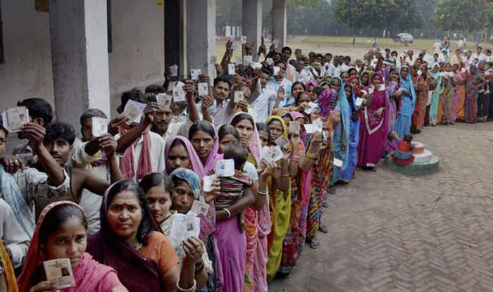 Voters at a polling booth (Representational Image)