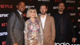 Will Smith, Joel Edgerton, Noomi Rapace And David Ayer SPOTTED In The City To Promote Their Latest Netflix Film, Bright