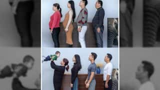 Chinese Family Of Four Loses Weight Together In Just 6 Months: Check Before And After Pictures