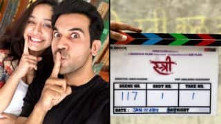 Stree: That's The Title Of The Hilarious Horror Film Starring Shraddha Kapoor And Rajkummar Rao!