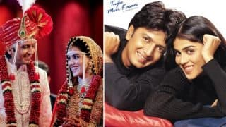 Riteish Deshmukh Shares Heartfelt Message for Wife Genelia D'Souza on the Occasion of their Debut Movie Tujhe Meri Kasam Celebrating 15 Years