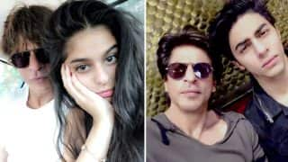 Shah Rukh Khan's Latest Tweet About Suhana And Aryan Will Make You Miss Your Dad
