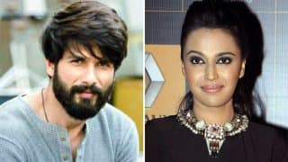 Shahid Kapoor Reacts To Swara Bhasker's Open Letter To Sanjay Leela Bhansali On Padmaavat