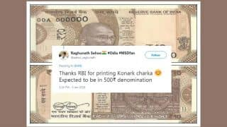 RBI Introduces New Ten Rupees Notes In Chocolate Brown Colour, Twitter Reacts