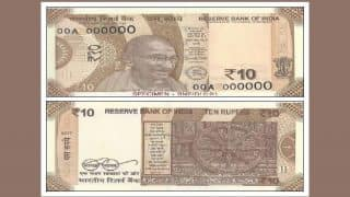 RBI to Issue New Cholocate Brown-Coloured Rs 10 Note Soon