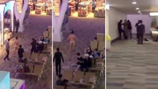 Shocking Video: Tourist Walks Naked Through Phuket International Airport Throwing Faeces After Overdosing on Viagra