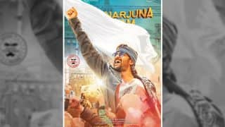 Telugu Star Nani Reveals The First Look Of The Second Character Arjun From 'Krishnarjuna Yuddham'