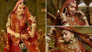 Deepika Padukone's Ghoomar Song To Undergo Major Change Before Padmaavat Hits Screens - Exclusive