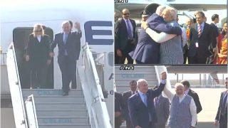 इजरायल के प्रधानमंत्री बेंजामिन नेतन्याहू भारत पहुंचे, पीएम मोदी ने किया स्वागत