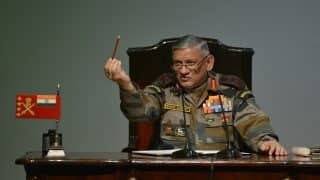 Imposition of Governor's Rule in J&K Will Not Affect Our Operations, Says Army Chief Bipin Singh Rawat