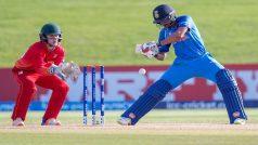 अंडर-19 वर्ल्ड कप: भारत ने जिम्बाब्वे को 10 विकेट से रौंदा, क्वार्टर फाइनल में जगह पक्की