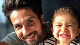 Shahid Kapoor And Misha Kapoor's Adorable Pic Is All You Need To Make Your Sunday Special
