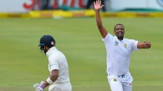 India vs South Africa 1st Test: Vernon Philander's Six-wicket Haul Helps Hosts Win by 72 Runs