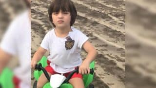 Shah Rukh Khan's Little Boy AbRam Flaunts His New Ride In This New Pic Shared By Mommy Gauri