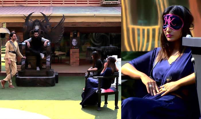 Bigg Boss 11: Will Hina Khan Complete The Task Or Press The Buzzer?