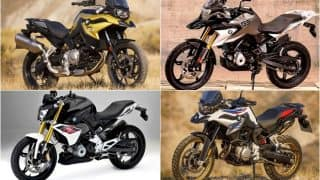 BMW G 310 R, G 310 GS, F 750 GS and F 850 GS, BMW R nineT Racer & K 1600 B to be Showcased at Auto Expo 2018