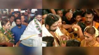 Bhavana Wedding: The Malayalam Actress Looks Resplendent, Here's A Glimpse Into Her Wedding With Naveen