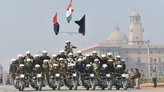 Republic Day 2018: BSF's All-Woman Seema Bhavani Contingent Stuns Audience With Motorcycle Stunts