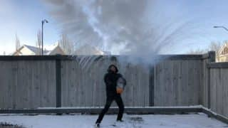 Hot Water Freezes Mid-air to Become Snow Cloud in Canada, Mpemba Effect is Internet's New Found Love