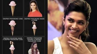 Amidst Padmaavat Ban Row, Deepika Padukone Finds Time To Share a Hilarious Meme That Finds a Connection Between Her Name and Ice-Cream Cone