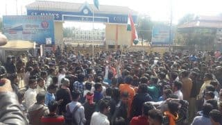 Vidisha: Ruckus at Saint Mary College After ABVP Denied Permission For 'Aarti' of Bharat Mata