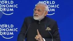 PM Narendra Modi Delivers Keynote Address at World Economic Forum 2018 in Davos, Expresses Concerns Over Protectionism, Climate Change And Terrorism