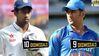 Wriddhiman Saha Surpasses MS Dhoni's Record, Twitterati Goes Crazy Applauding the Cricketer