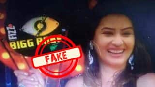 Is Shilpa Shinde's Picture With The Bigg Boss 11 Winner's Trophy Real?
