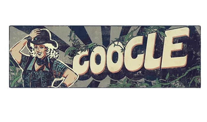 Google Doodle pays tribute to 'Fearless Nadia', India's queen of stunts