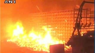 Massive Fire Breaks Out at Bhiwandi Factory, no Casualties Reported so Far