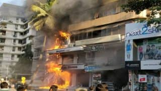 Gujarat: Fire Breaks Out at Sargam Shopping Center in Surat's Piplod