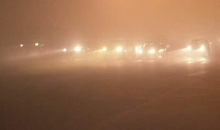 Fog hits train, flight operations in Delhi