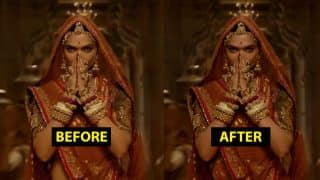 Deepika Padukone's Exposed Midriff in Ghoomar Song from Padmaavat Gets Covered by VFX, Twitterati is not Impressed