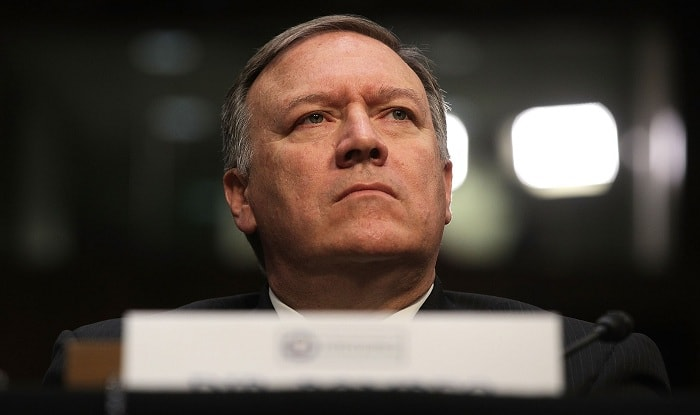 Central Intelligence Agency director Mike Pompeo