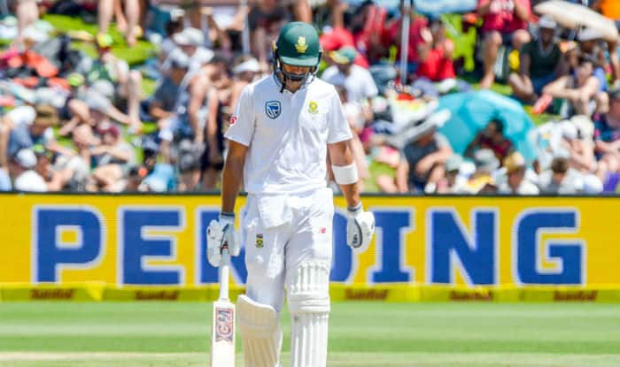 South African opener Aiden Markram walks off after being dismissed | Getty Images