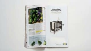 Swedish Furniture Giant IKEA Asks Women To Pee On Magazine Ad To Get Discount (Video)